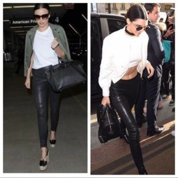 960326da472e2e J Brand Pants | Edita Leather Pull On Leggings | Poshmark